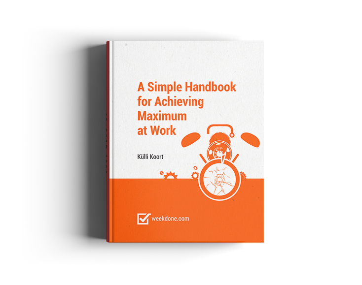 Ebook - A Simple Handbook for Achieving Maximum at Work