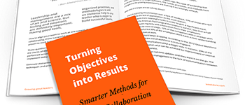 Leader's Manual: Turning Objectives into Results