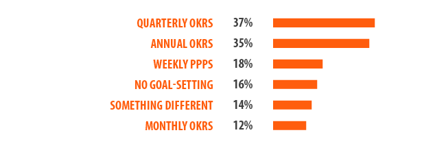 Leadership Survey Results: Setting Goals and Objectives