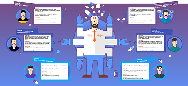 Treating the 6 Fake Work Habits [Infographic]