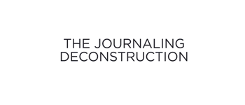 Video: The Journaling Deconstruction