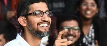 "Google CEO Sundar Pichai: ""Let others succeed"""